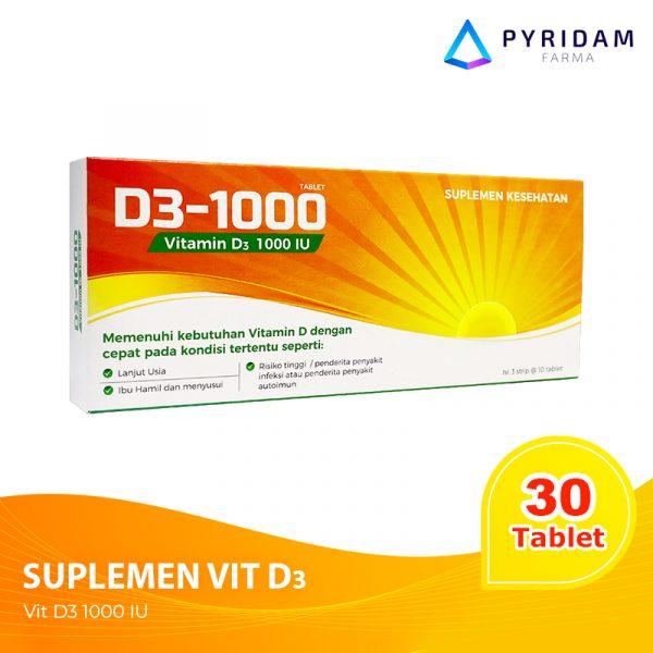 jual supplemen vitamin D D3-1000 untuk autoimun
